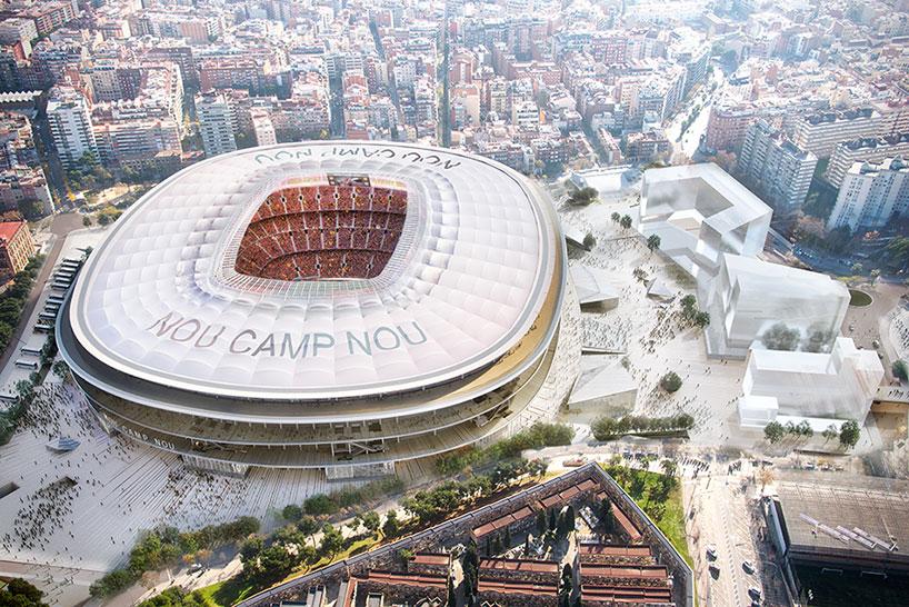 Con capacidad para 98.787 espectadores, el Camp Nou es el mayor estadio de Europa